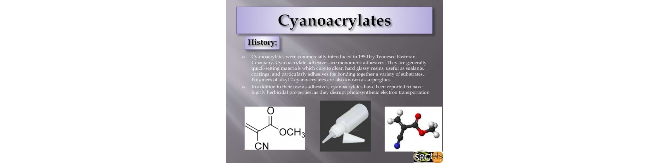 На цианокриловой основе (молекулярные)
