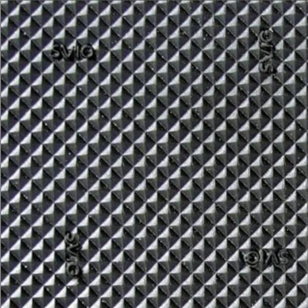 293 PYRAMID 6.0 мм EXPORT резина шлифованная